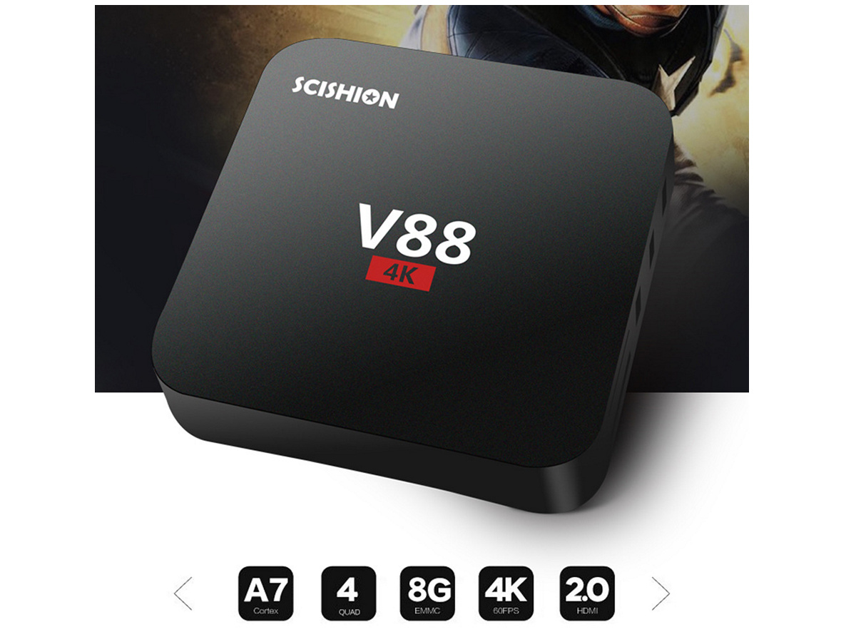 rockchip rk3229 4 - Zimtown Android 6.0 TV Box Rockchip RK3229 Quad Core