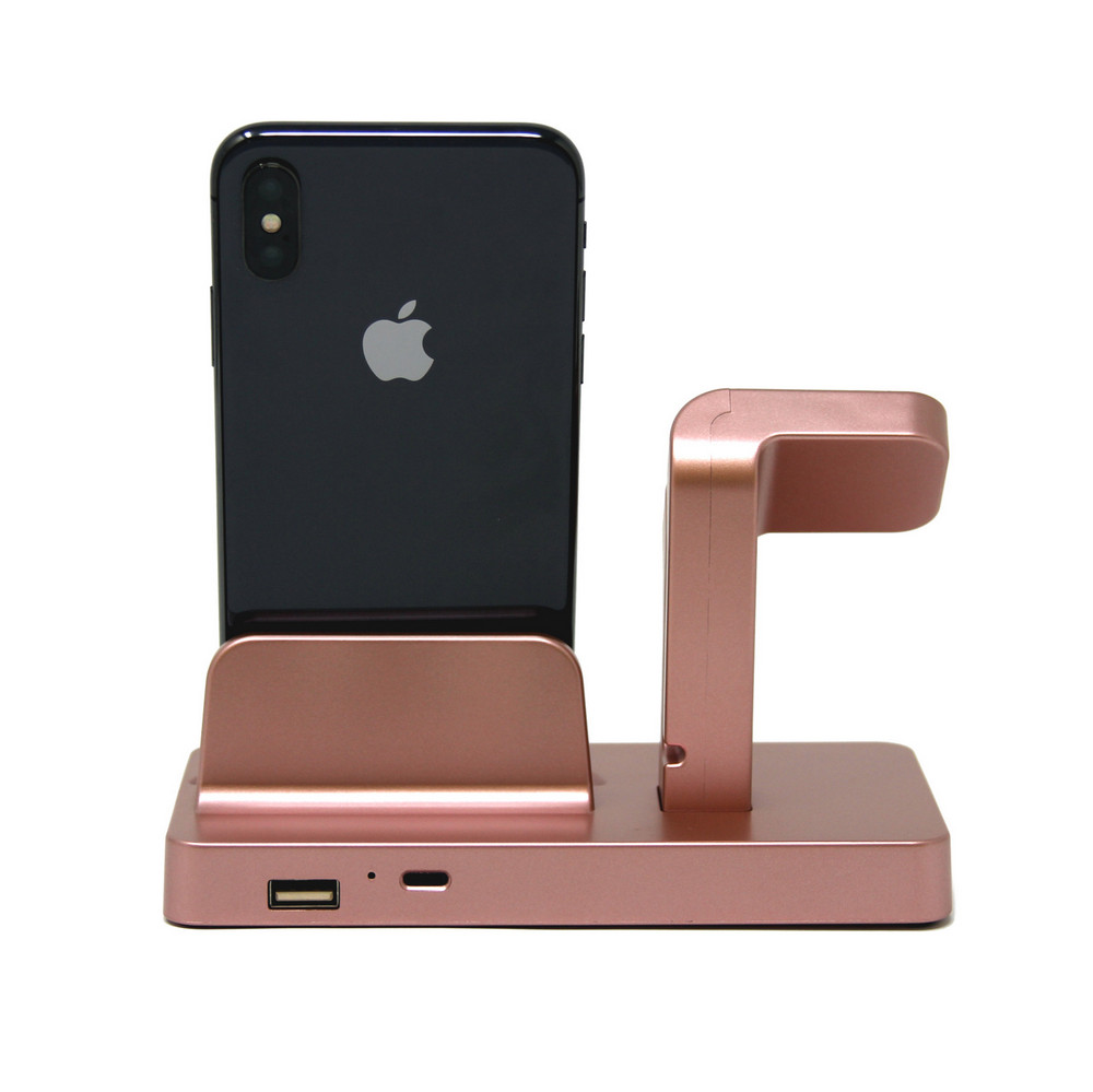 rose gold charging dock 5 - Charging Dock Stand Station Charger Holder For Apple